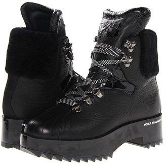 Yohji Yamamoto Y-3 Hike Star (Black Y-3/Black Y-3/Gunmetal) - Footwear