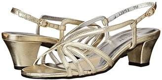 Walking Cradles Leash (Gold Nappa) Women's Sandals