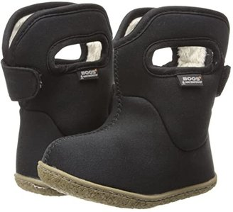 Bogs Baby Classic Solid (Toddler) (Black) Kids Shoes
