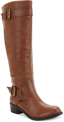 Style&Co. Derby Wide Calf Boots