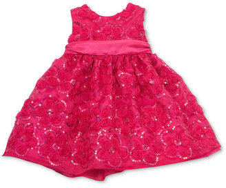 Rare Editions Baby Dress, Baby Girls Soutache Dress
