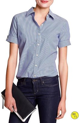 Banana Republic Factory Fitted Non-Iron Shirt