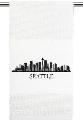 Mariasch Studios Seattle Skyline Kitchen Towel