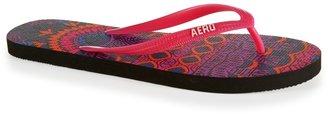 Aeropostale Geometric Tribal Flip-Flop