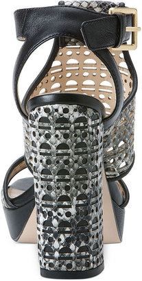 Calvin Klein Women's Vallin Platform City Sandals