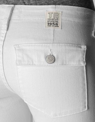 True Religion Joyce Skinny Military Crop Womens Pant