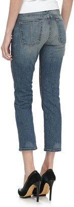 Current/Elliott String Bean Slim-Fit Jeans, Worn In