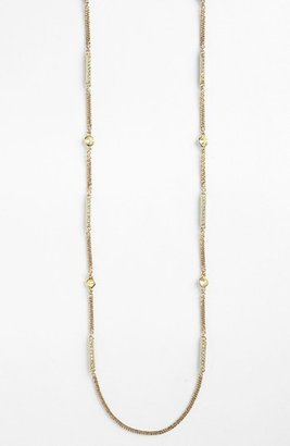 Givenchy Extra Long Station Necklace Chrysolite/ Gold