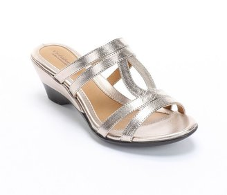 JLO by Jennifer Lopez Croft and barrow sole (sense)ability wedge sandals - women