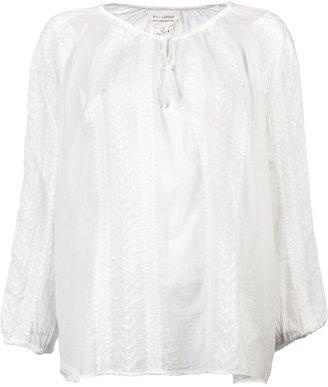 Nili Lotan Bohemian embroidered blouse