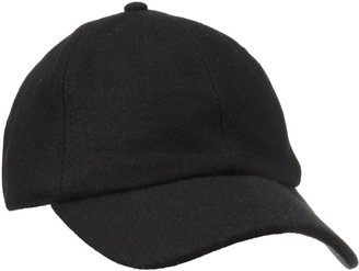 San Diego Hat Company Women's Wool Baseball Hat with Adjustable Back
