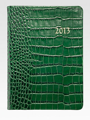 Graphic Image 2013 Croco Leather Notebook Planner