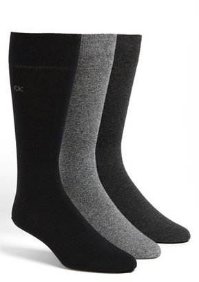 Men's Calvin Klein Assorted 3-Pack Socks $22 thestylecure.com