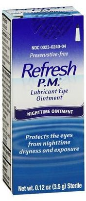 Refresh PM Lubricant Eye Ointment $14.99 thestylecure.com