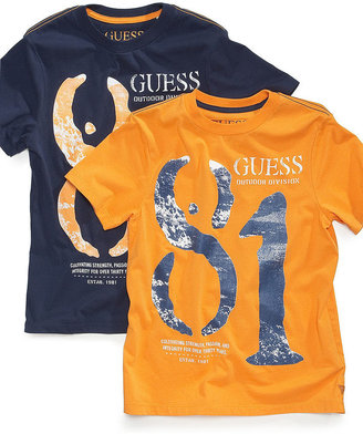 GUESS T-Shirt, Little Boys 81 Graphic Tee