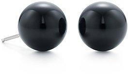 Tiffany & Co. Ziegfeld Collection Black Onyx Earrings