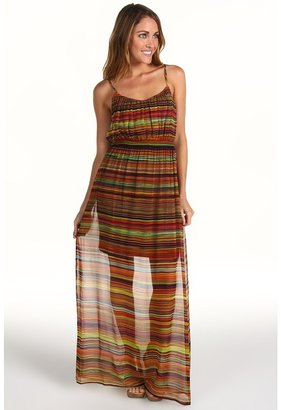 Twelfth St. By Cynthia Vincent by Cynthia Vincent Smocked Waist Maxi Cami Dress Women's Dress