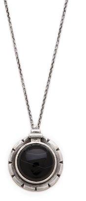 Pamela Love Dial Pendant Necklace
