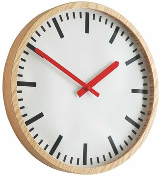 Zillmere Wooden wall clock
