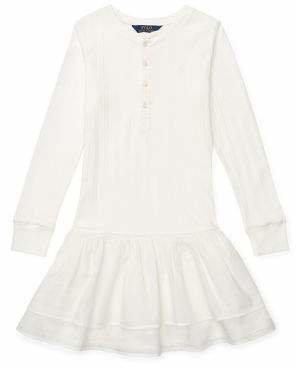 Ralph Lauren Childrenswear Girl's Cotton Henley Dress