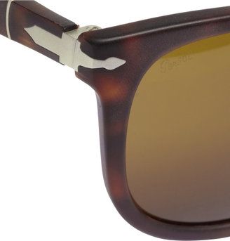 Persol Havana Polarised Acetate Sunglasses