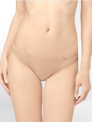 Calvin Klein Brief Encounters Sheer Bikini