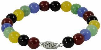 FINE JEWELRY Multicolor Jade Bead Bracelet
