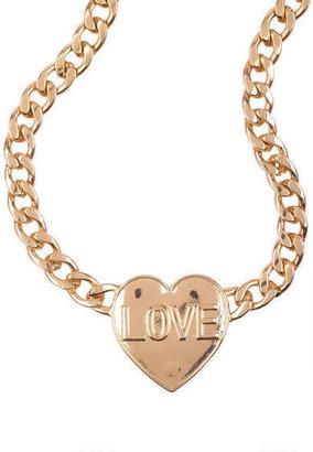 Delia's Heart Love Necklace