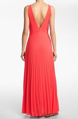 Like Mynded Pleated Maxi Dress