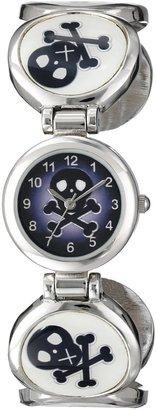 Frenzy Kids' FR314 Skull Novelty Analog Cuff Watch
