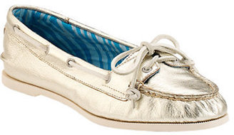 Sperry Audrey Metallic Leather Slip-On Boat Shoes
