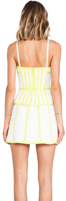 BCBGMAXAZRIA Strapless Dress