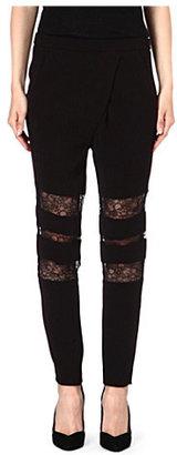 Maje Emersion peekaboo trousers
