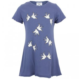 Wildfox Couture Dusty navy dove tee