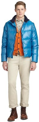 Brooks Brothers Preppy Tech Puffer