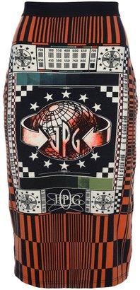 Jean Paul Gaultier Vintage 'JPG tv' skirt