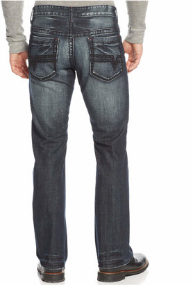 INC International Concepts Men's Gale Copenhagen Bootcut Jeans, Only at Macy's $49.98 thestylecure.com