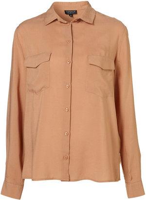 Topshop Two Pocket Shirt