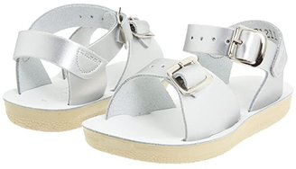 Salt Water Sandal by Hoy Shoes Sun-San - Surfer (Toddler/Little Kid) (Silver) Girls Shoes
