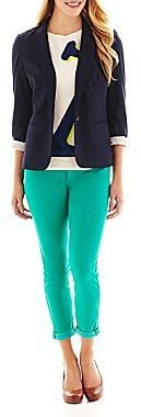 JCPenney jcpTM Anchor Sweater, Knit Blazer or Ankle Jeans
