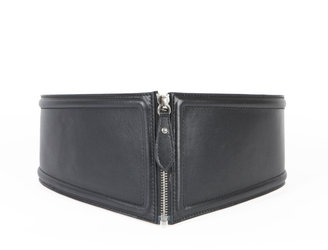 Jean Paul Gaultier Middle Zip Front Waist Belt