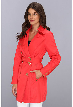 MICHAEL Michael Kors Double-Breasted Trench M721065D