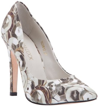 Emma Cook Printed court shoe
