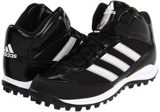 adidas Turf Hog LX Mid (Black/Running White/Metallic Silver) - Footwear