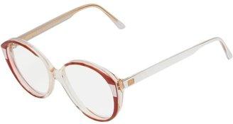 Balenciaga Pre Owned Oval Frame Glasses