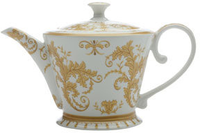 Maxwell & Williams Historic Royal Palace Hampton Court Tijou Gates Teapot 950ml White