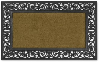 Williams-Sonoma Rubber Scroll & Coir Doormats