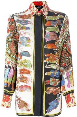 Versace Gianni Vintage printed shirt