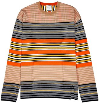 Wooyoungmi Striped Wool Jumper