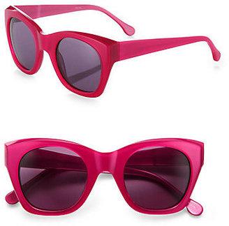 Elizabeth and James Leary Angular Square Sunglasses